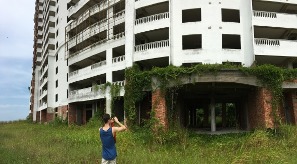 Resorts abandoned before they were finished