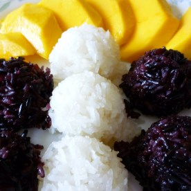 Mangos and rice